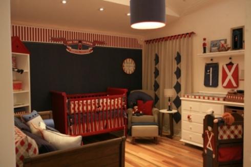 Decoração Quarto bebê Londres Union Jack